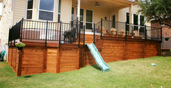 Decking with Slide