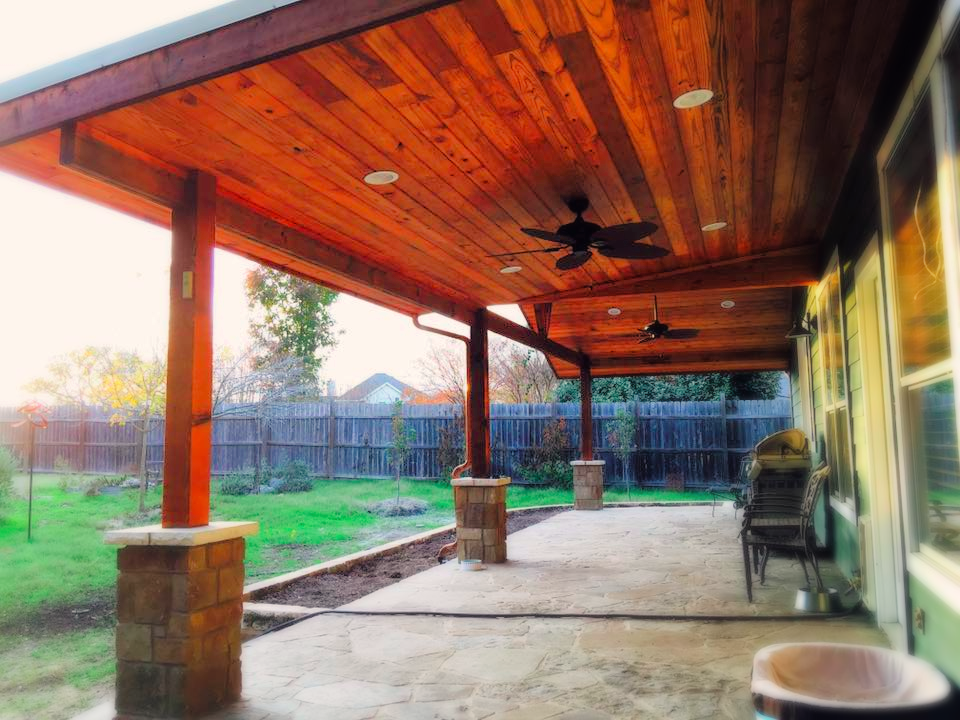 Patio and Cover