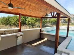 Pool Cabana Cover