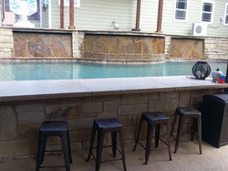 Bar next to Pool
