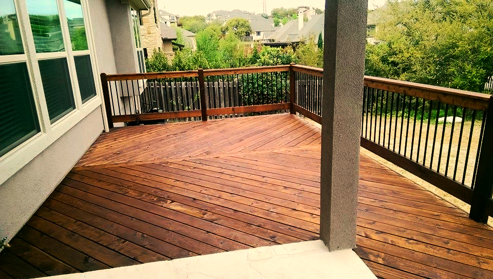 Deck, Railing and Stairs