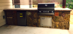 Hill Country Outdoor Kitchen