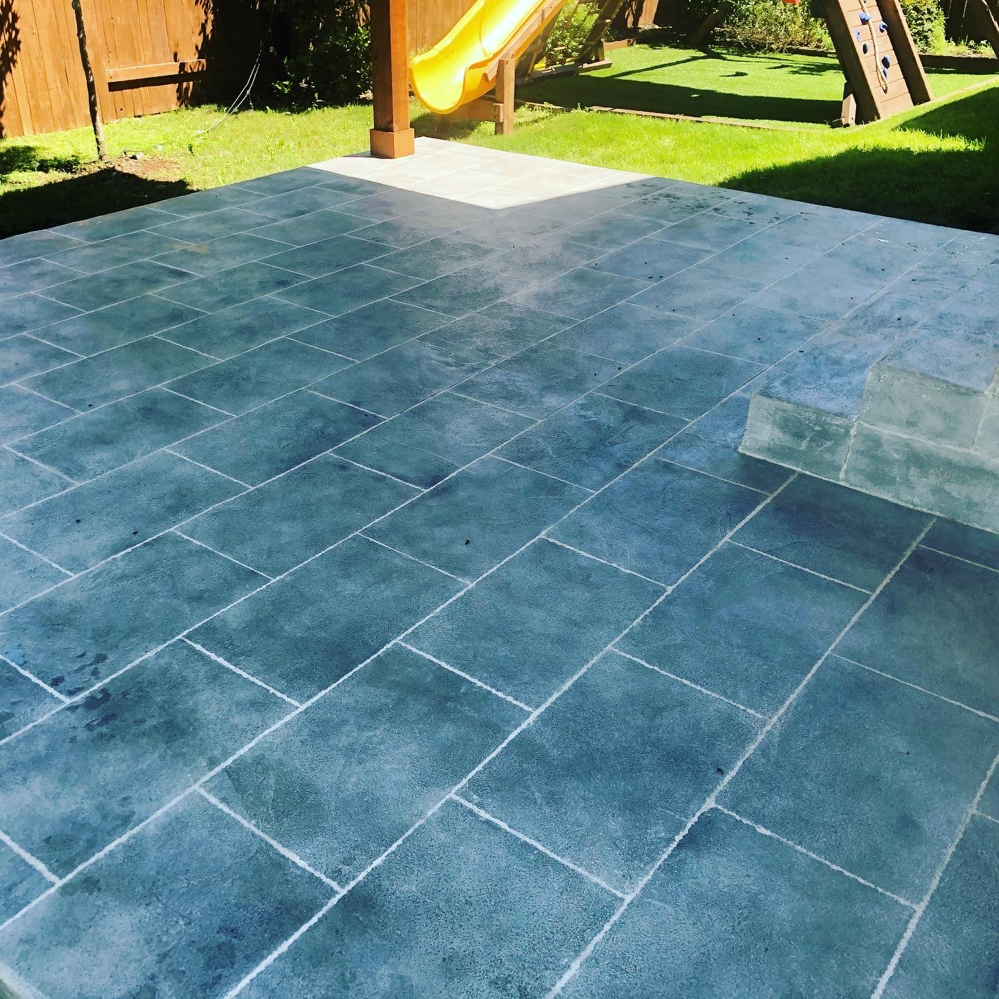 Patio with Overlay