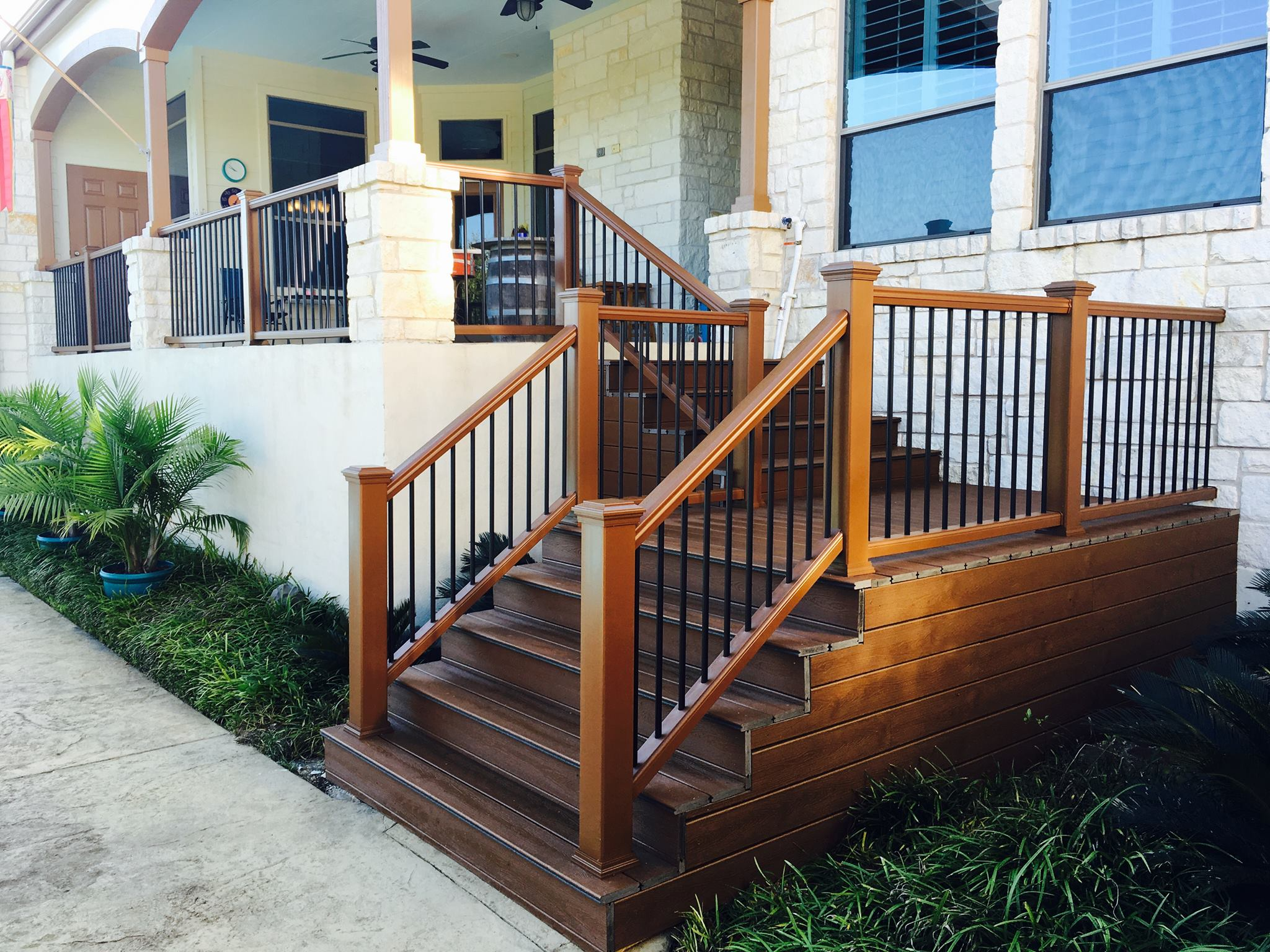 Composite Deck and Railing