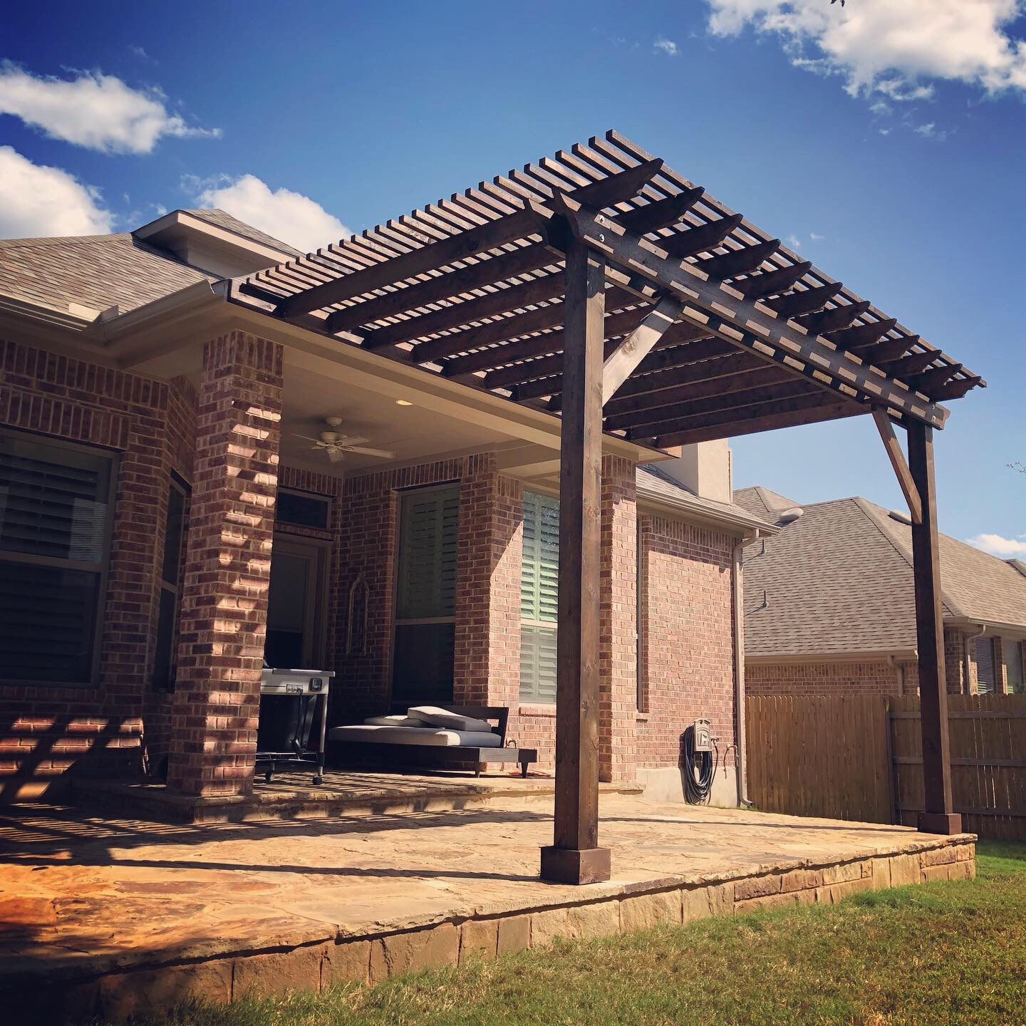 Dripping Springs Pergola