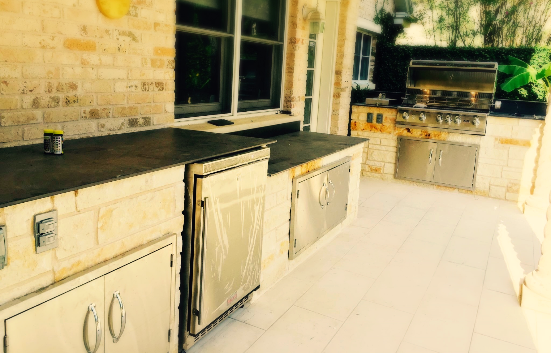 Lake Austin Outdoor Kitchen