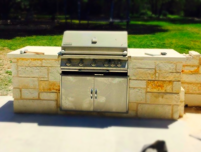 Outdoor Kitchen - Steiner Ranch