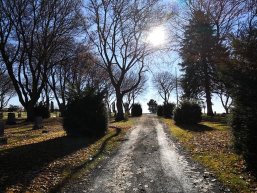 Haibun Postcard: from Pullman City Cemetery