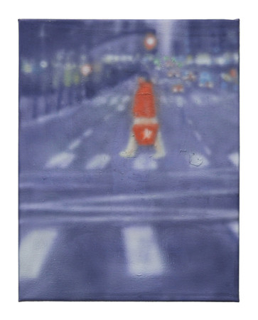 a man in Red