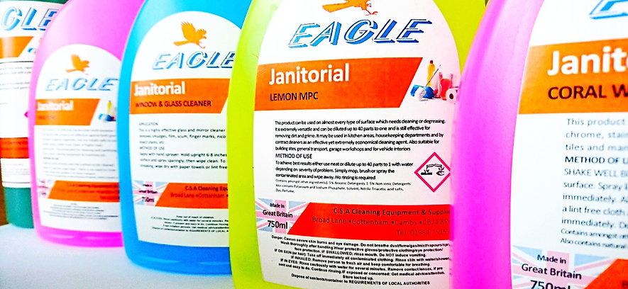 Professional cleaning detergents cambridgeshire
