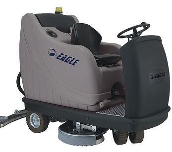Ride on scrubber dryer hire