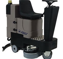 Compact ride on scrubber dryer hire