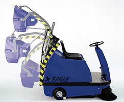 carpark sweeper hire