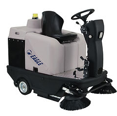 ride on sweeper hire