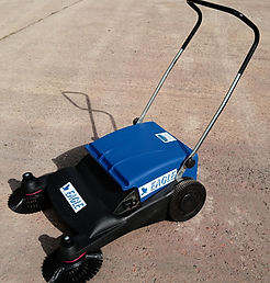 leaf sweeper hire