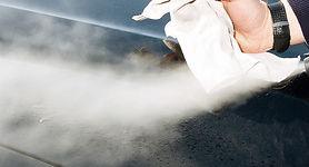 Professional vehicle steam valet machine