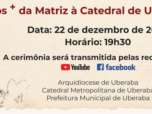 """Catedral Metropolitana lança livro """"200 anos + de Matriz à Catedral de Uberaba"""""""