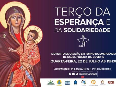 Terço da Esperança e da Solidariedade será direto da Catedral Metropolitana de Belém