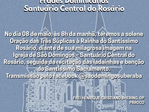 Paróquia São Domingos - Santuário Central do Rosário