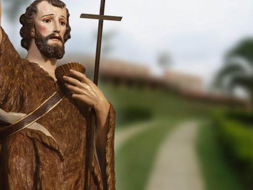 Festa em louvor à São João Batista acontece de forma online nesta quarta-feira (24)