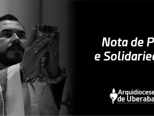 Arquidiocese de Uberaba comunica o falecimento do Padre Carlos Alexandre de Souza
