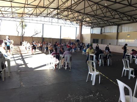Paróquias de Uberaba auxiliam Prefeitura Municipal na imunização da população
