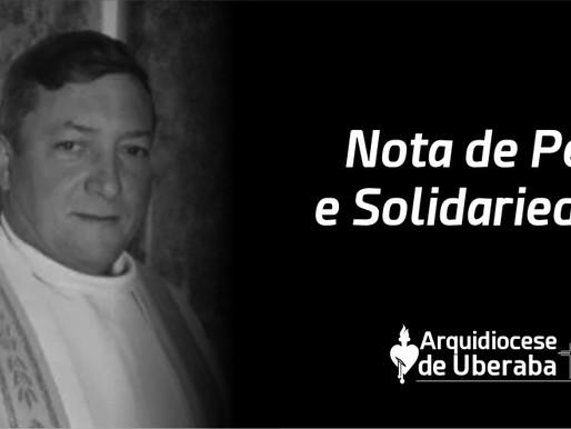 Arquidiocese de Uberaba comunica o falecimento do Padre Selmo Donizetti Mazetto