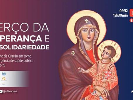 Terço da Esperança e da Solidariedade será direto da Arquidiocese de Campo Grande (MS)