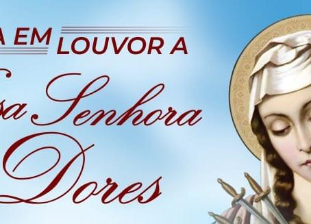 Paróquias da Arquidiocese celebram a festa de Nossa Senhora das Dores