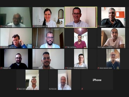Setor Juventude realiza videoconferência com representantes das Províncias Eclesiásticas