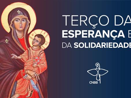 Terço da Esperança e da Solidariedade desta quarta terá religiosas e movimentos eclesiais