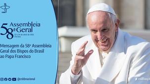Em carta a ser enviada ao Papa, aprovada pela 58ª AG CNBB, bispos renovam a fidelidade e a comunhão