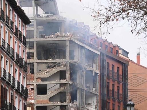 O pesar de Francisco pelas vítimas da explosão em Madri