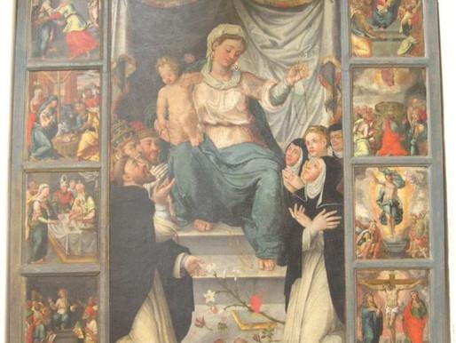 Pesquisa Iconográfica sobre N. Sra. do Rosário: obras de arte que inspiram devoção e conversão