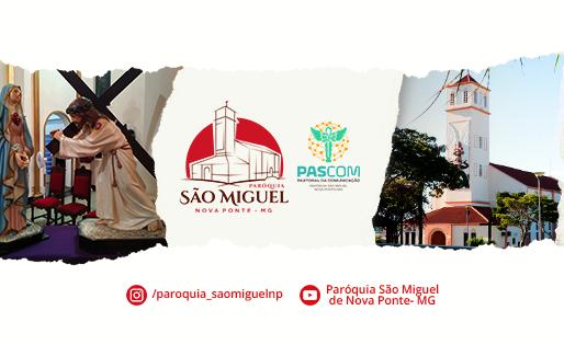 """Paróquia São Miguel Arcanjo, em Nova Ponte, inicia o projeto """"Paróquia em Ação"""""""