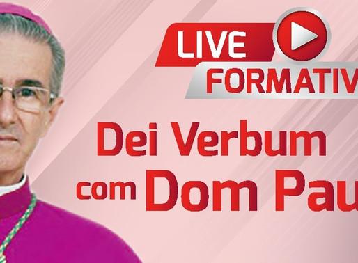Live Formativa Dei Verbum com Dom Paulo