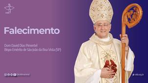 Dom David Dias Pimentel, bispo emérito de São João da Boa Vista (SP), morre por Covid-19