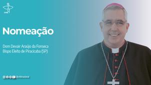 Papa Francisco aceita renúncia de Dom Fernando Mason e nomeia novo bispo de Piracicaba/SP