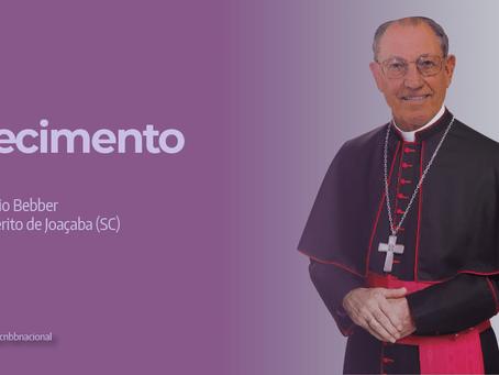 Falece Dom Osório Bebber, bispo emérito de Joaçaba (SC)