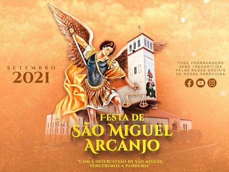 Festa de São Miguel Arcanjo, em Nova Ponte, têm início no dia 20 de setembro