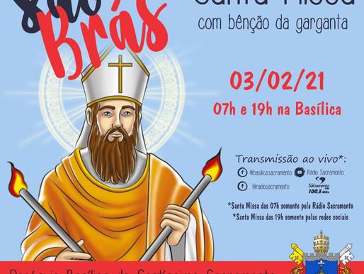 São Brás é celebrado em paróquias da Arquidiocese de Uberaba