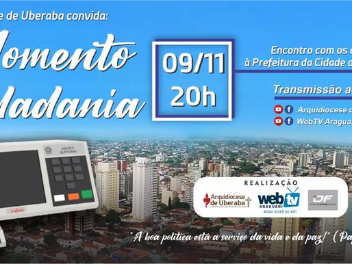 "Arquidiocese de Uberaba promove ""Momento Cidadania"""