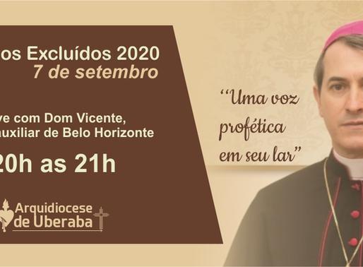 """Live promove o """"Grito dos Excluídos"""" na Arquidiocese de Uberaba"""