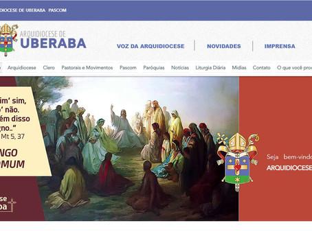 Acesse o novo portal da Arquidiocese
