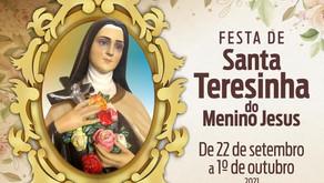 Arquidiocese de Uberaba se prepara para a festa em louvor à Santa Teresinha do Menino Jesus