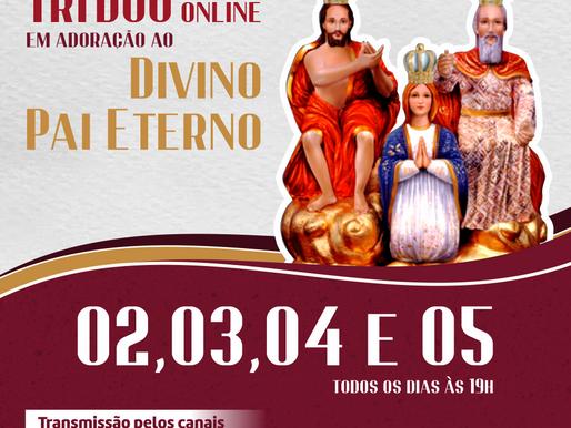 Paróquia de Santa Cruz realiza Tríduo do Divino Pai Eterno, em Uberaba