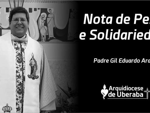 Nota de Pesar e Solidariedade à Diocese de Uberlândia