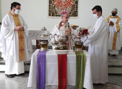 Arquidiocese de Uberaba realiza Missa da Unidade de forma restrita