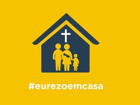 Covid-19: #eurezoemcasa, vídeos e fotos testemunham a fé em Jesus Cristo