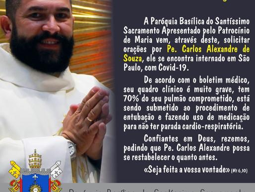 Arquidiocese de Uberaba pede orações padres internados, com Covid-19